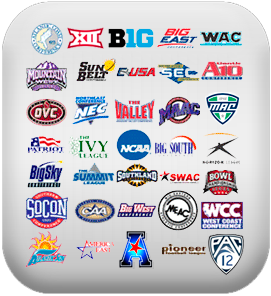 Updates To The NCAA Conferences Logos