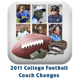 college football coach1 2011 College Football Coaching Changes