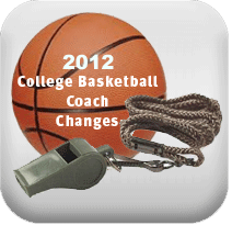 2012 coaching changes 2012 College Basketball Coaching Changes