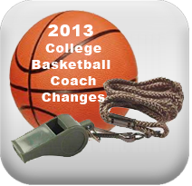 2013 college basketball coach 2013 College Basketball Coach Changes