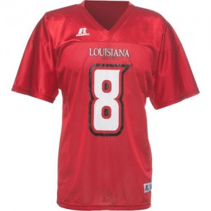 Univeristy of Louisiana football jersey 300x300 Whats in a Name: ULL vs ULM Back in the News