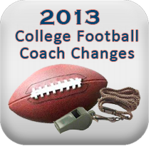 2013 college football coach 2013 College Football Coaching Changes