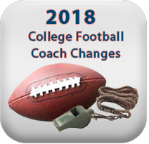2018-2019 College Football Coaching Changes | CollegeSportsInfo com